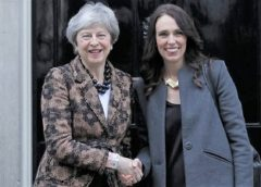 New Zealand signs pact with Britain for trade continuity