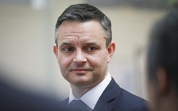 Greens Co-Leader James Shaw attacked on Wellington Street