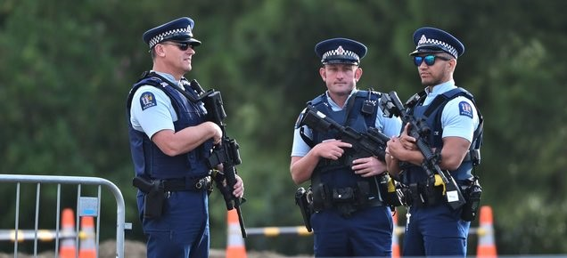 Heightened security at National Remembrance Service today