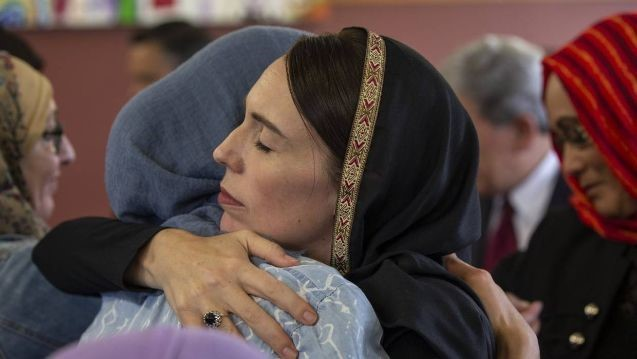 New Zealanders rally behind Muslims as the Nation mourns