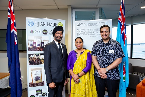 Visiting Fijian Minister seeks more investors, tourists