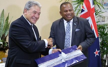 Winston Peters reboots Fiji ties with 'Pacific Reset'