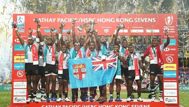 Fabulous Fijians take fifth consecutive title in Hong Kong