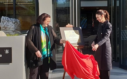 Jacinda Ardern opens our Embassy in Beijing