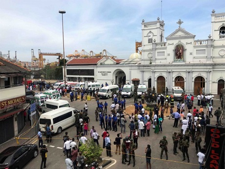 More than 200 dead in Sri Lanka bombings