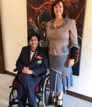 Paralympic Athlete Deepa Malik is Sir Edmund Hillary Fellow 2019