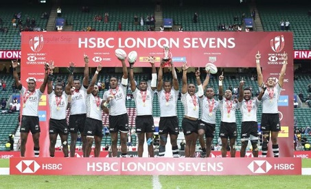 Fiji crowned HSBC London Sevens champions again