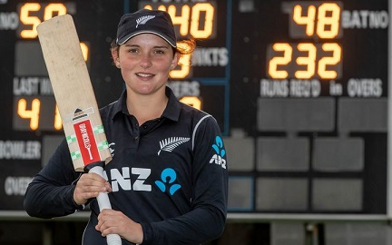 India is 'Promised Land' of Cricket for Amelia Kerr