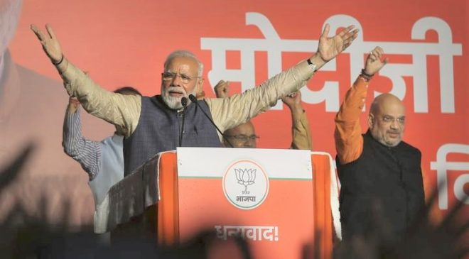 Landslide victory for Narendra Modi in India