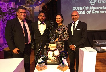 Wellington Phoenix honours Roy Krishna and other stalwarts