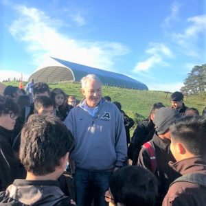 Auckland Mayor Phil Goff reaches million tree mark