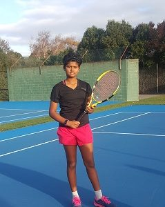 Youngster for Australian Tennis Under 11 Championship matches
