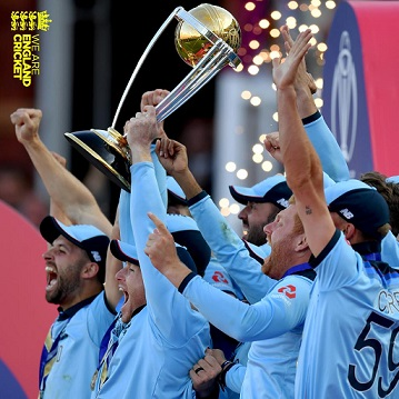 England defeat Black Caps to lift the World Cup