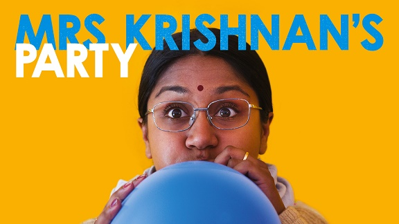 An invitation to join Mrs Krishnan's Party