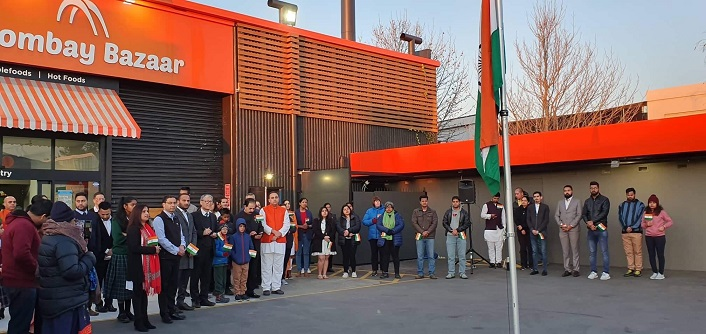 Indians in Christchurch observe Independence Day