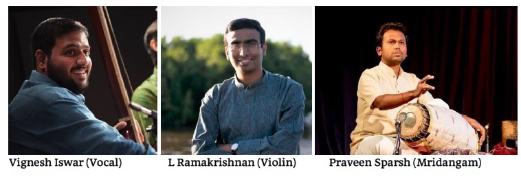 Young Carnatic Music Masters due in Auckland, Hamilton