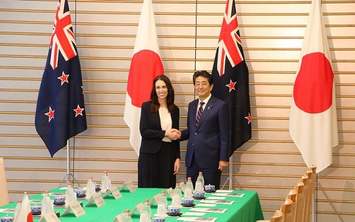 New Zealand, Japan agree on closer relationship
