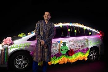 Ola drivers bring Diwali spirit to Auckland roads