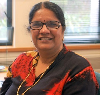 Pushpa Wood receives Zonta Centenary Award