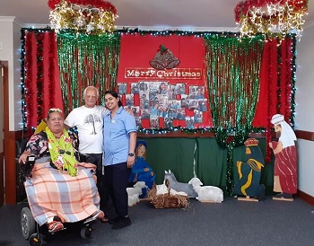 Christmas Party for Care Home residents