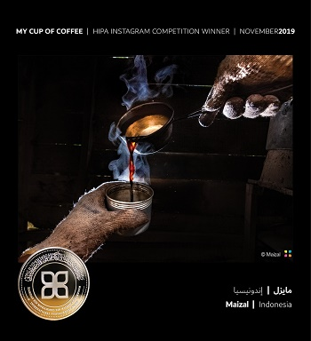 Cup of Coffee brings cheers to Indonesian photographer