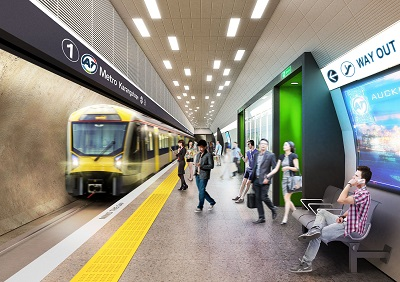 Traffic reroutes as K Road Station picks speed in Auckland