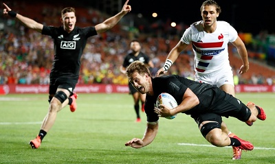 All Blacks Sevens win first title in Hamilton