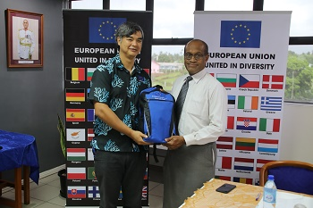 European Union gifts Disaster Preparedness Kits to Fiji