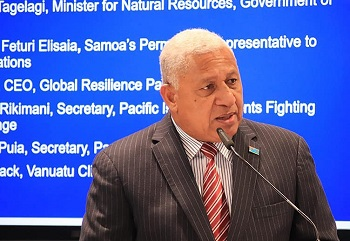 Natural disasters will not obtrude Fiji's progress