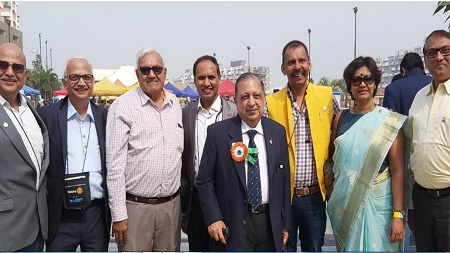 Rotary Car Rally connects Rotarians from India, New Zealand