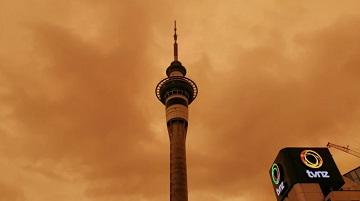 Smoke from Australia makes New Zealand sky hazy
