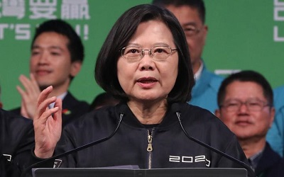 Tsai Ing-wen gets comfortable majority for second presidential term