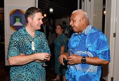 Bainimarama greets New Zealanders on Waitangi Day