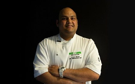 Tejas Nikam named Beef+Lamb Ambassador Chef