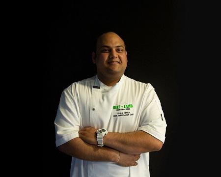 Tejas Nikam named Beef+Lamb New Zealand Ambassador Chef