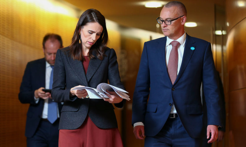 Jacinda Arden demotes embattled Health Minister