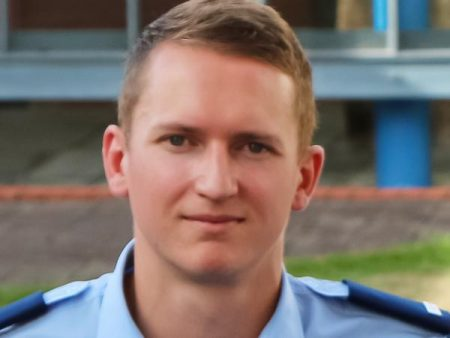 Police pause to honour murdered Constable Matthew Hunt