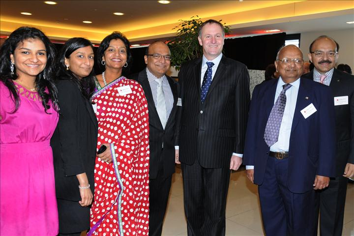 Key applauds Indian business community