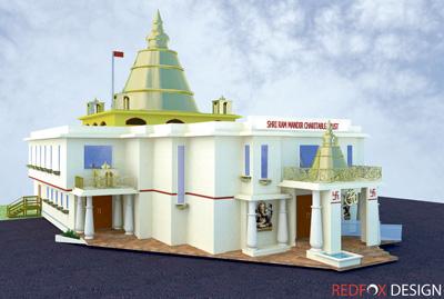 Temple Project extols Hindu values