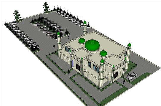 New Islamic Centre coming up in Hamilton