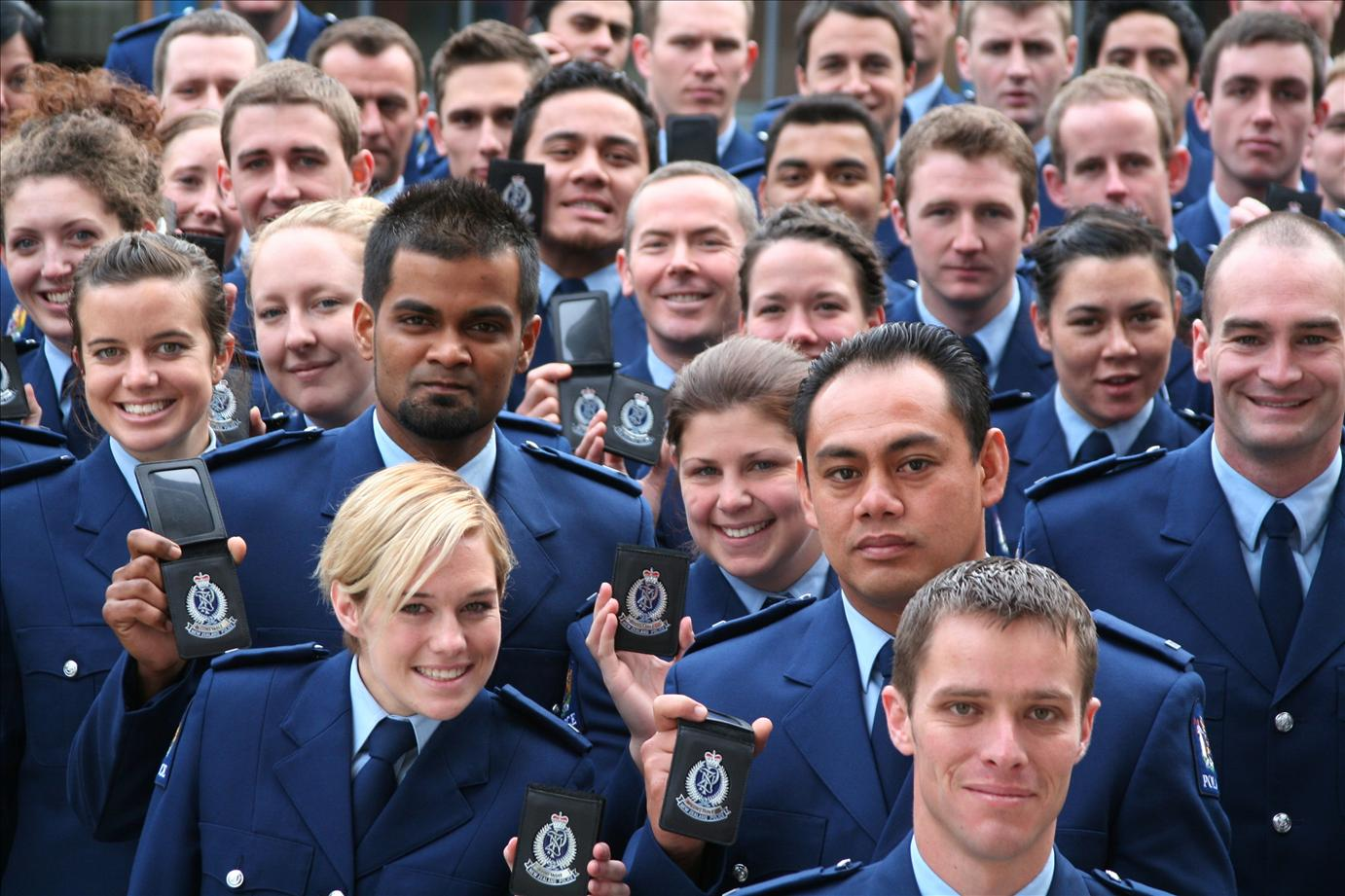 Young graduates add colour to Police Force