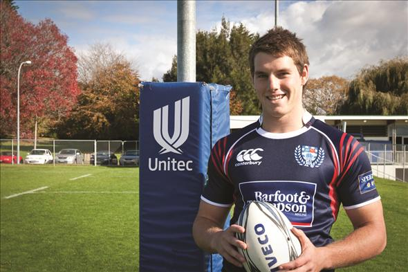 Unitec student leads Under-20 Rugby World Cup Team