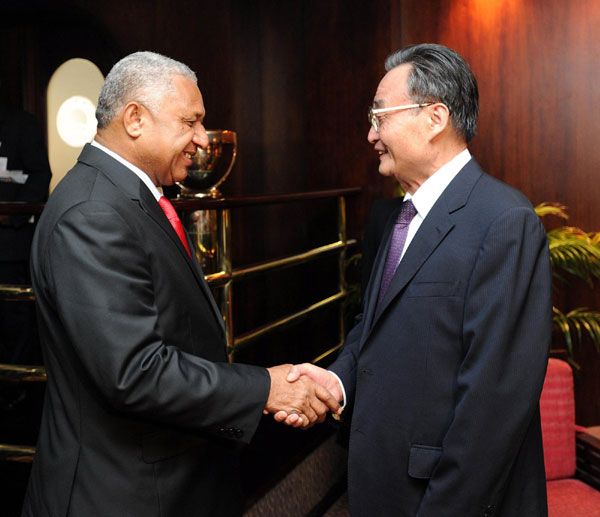 Agreements to promote Fiji-China ties