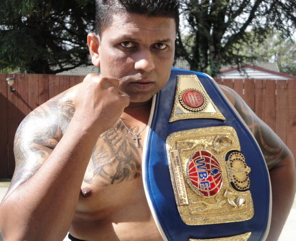Rohit wins World Heavyweight title