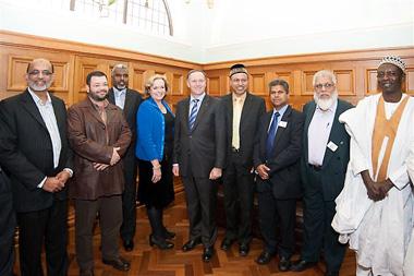 Key honours Muslim community in Parliament