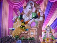 Hindus greet their favourite deity with piety