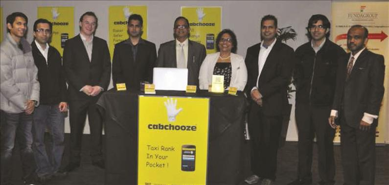 Smart application hails speedy taxi service