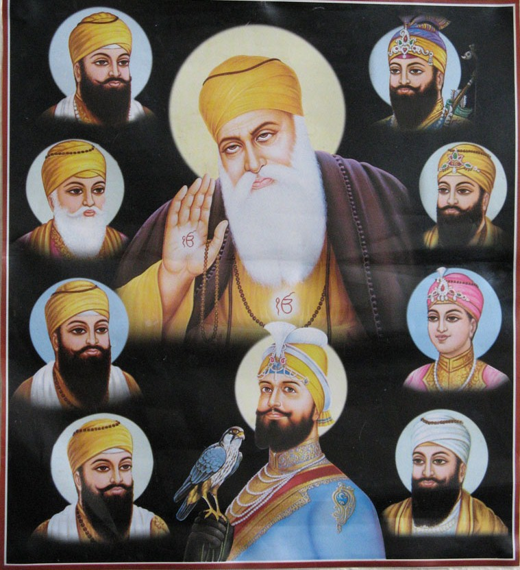 The Ten Gurus of Sikhs
