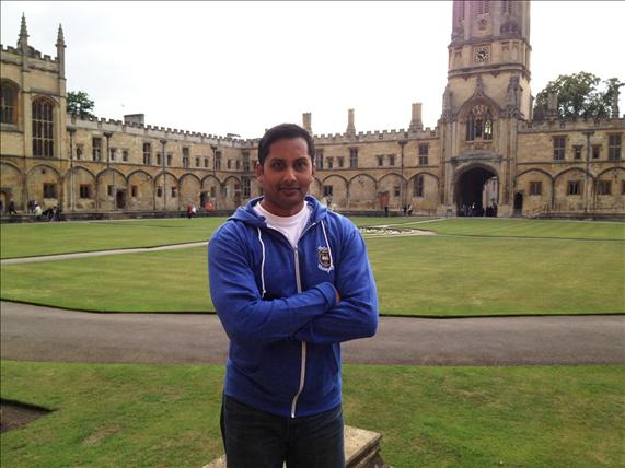 Banker to join galaxy of alumni at Oxford