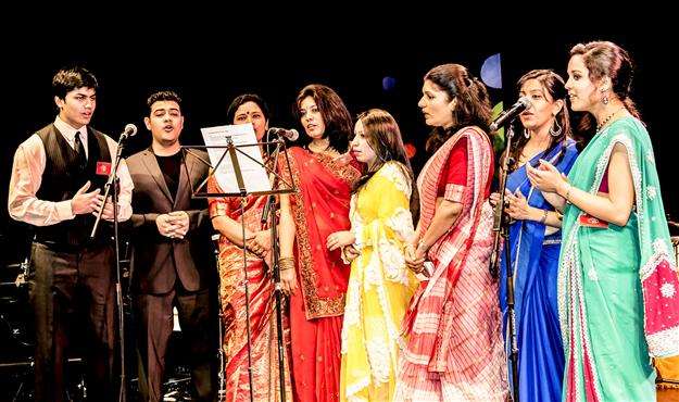Local talents enliven Indian music and dance